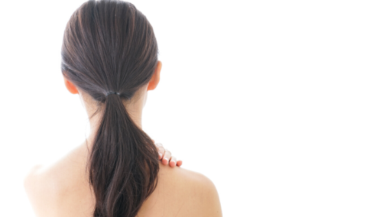 How to relieve tight shoulders.